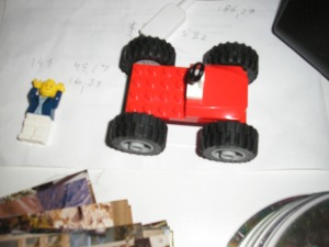 One of my son\'s Lego creations.