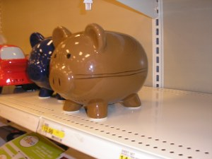 Brown Pig  at Target