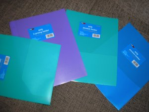 Target School Folders With Pockets