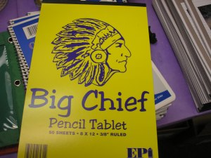 Big Chief Tablet