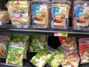 Wal-Mart Fruit and Veggie Bags