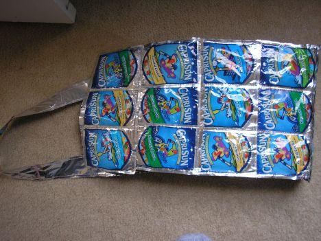 Capri Sun Recycled Lunch Bag