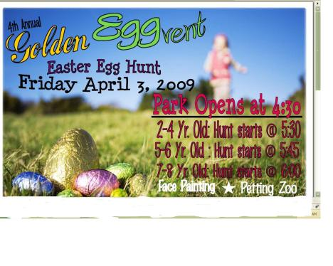 City of Katy Egg Hunt