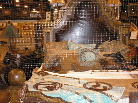 Mesquite Leather Bedroom Headboard-Only in Texas.